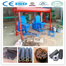 Wood sawdust coconut shell charcoal briquettes making machine