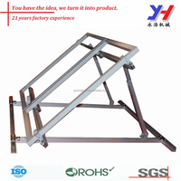 OEM ODM Custom Aluminum Profile Solar Panel Mounting Support for Solar Power Plant