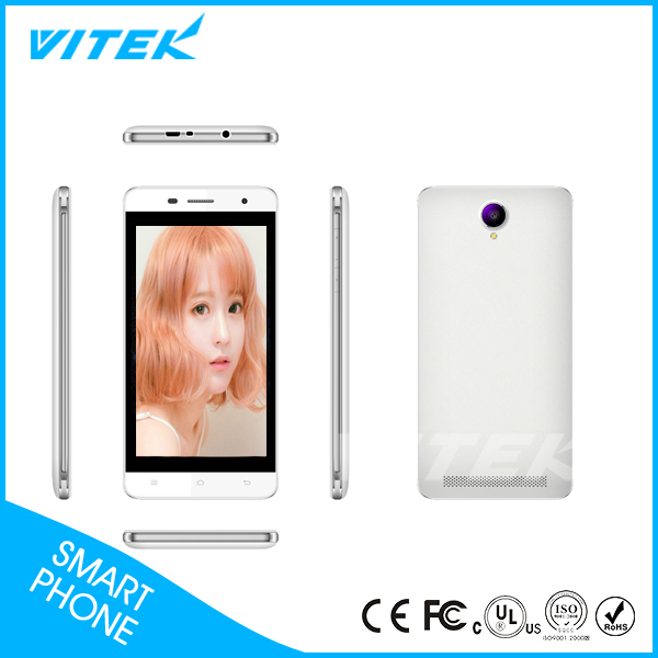 5.5 inch OEM Front 2mp Camera Your Own Brand 4G Android Phone