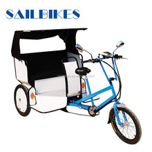 china supplier jxcycle electric rickshaw tricycle with passenger seat