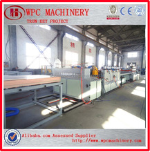 Qingdao professional factory Wood plastic composite board making machine/WPC furniture board making machine