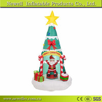 Customized Size inflatable christmas tree/toys in good quality