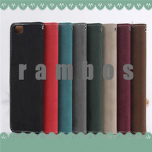 Vintage Flip Wallet Leather Phone Case Cover with Credit Card Slot for Huawei Ascend P7 G700 P6 Honor 6 3 3C