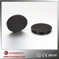 N52 Black Epoxy Factory-made Rare Earth NdFeb Disc Magnet