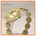 2015 Assisi fashion IP gold plating china branded japan movt wrist watch