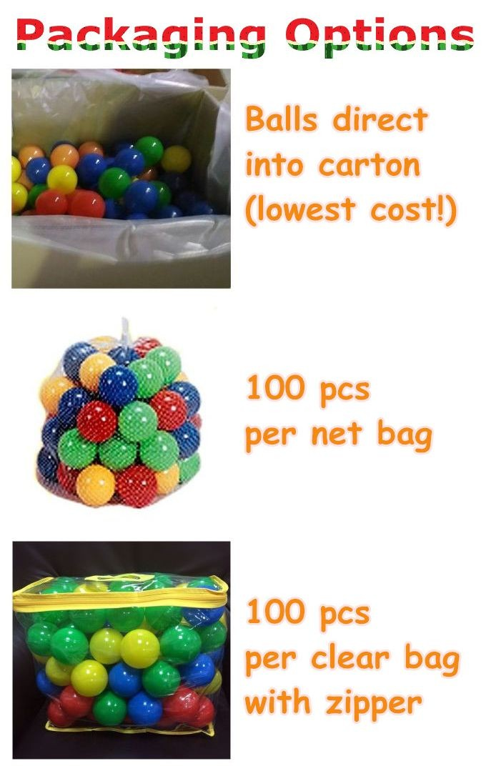 CE Kids baby plastic toy ball, plastic air filled balls