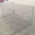 China supplier hexagonal wire mesh pvc mat for gabion box