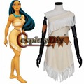 Movie Pocahontas Princess Pocahontas Dress Adult Women Cosplay Costume Custom Made