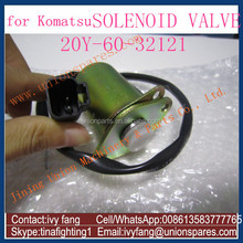 Hot Sale PC130-8 PC200-8 PC300-8 PC400-8 Solenoid Valve 20Y-60-32121for Komatsu