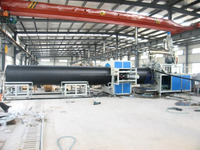 Large caliber HDPE drainage pipe producing machine