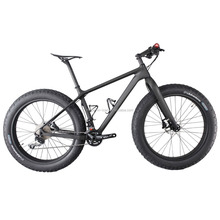 High Stiffness ICAN Full Carbon Fiber Complete Bike 26er Carbon Fat Bike