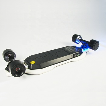 wholesale cheap 800W hub motor wireless remote control off road electric skateboard with mountain wheels for adults