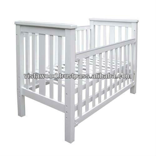 Baby Crib , wooden cot, convertible wooden playpen,wooden bay cot