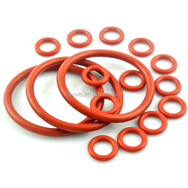 Best Price AS568 Metic Red Viton Rubber Silicone Rubber O Rings