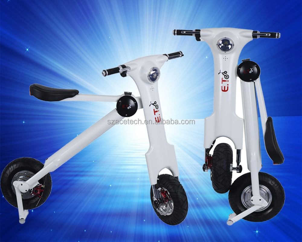 Acetech 2017 folding ebike city road convenient electric bicycle for workder approved by FCC,CE,ROHS