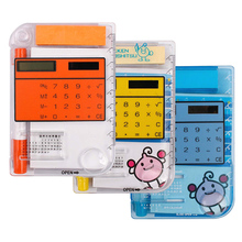 INTERWELL CR36 Sticky Note Calculator, Note Pad Pocket Calculator with Pen