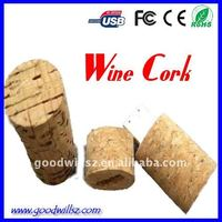 Promotional wooden Wine cork USB flash drives/memory/bulk