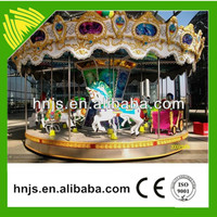Interesting kids rides merry christmas carousel for sale