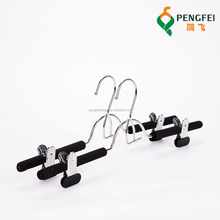 Assessed Supplier PENGFEI Metal foam pants hanger for pants/skirt/trousers