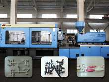 plastic cross injection machine