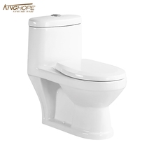modern western sitting toilet, pedestal toilet, one piece washdown wc toilet