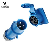 portable new type circular socket male plug connector