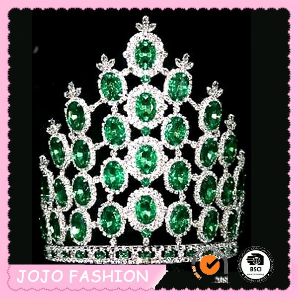 8 inches cheap tall pageant crown tiara for sale
