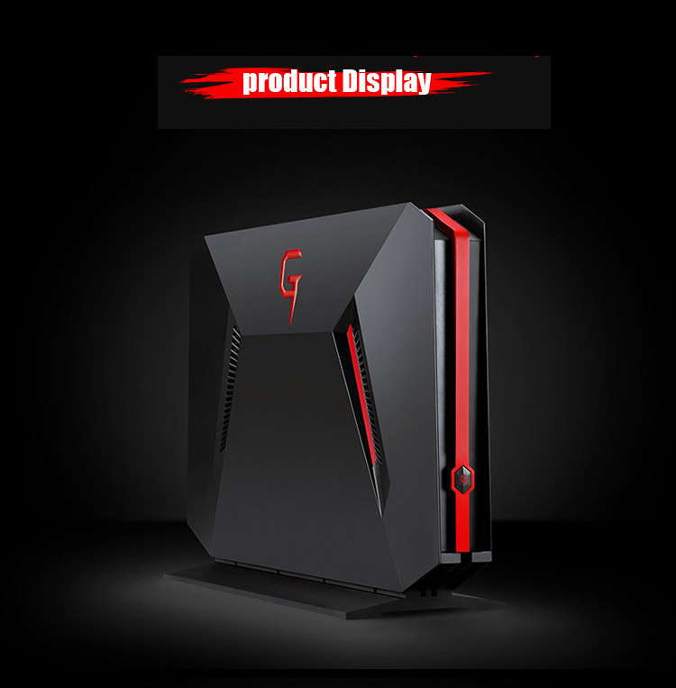 2x DDR4 RAM max 32GB 4K screen VR ready G-SYNC intel i7-7700HQ CPU 3.8GHz racing design pc gaming desktop computer