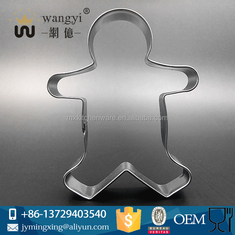 Cute boy shaped cake mould and stainless steel cake tools