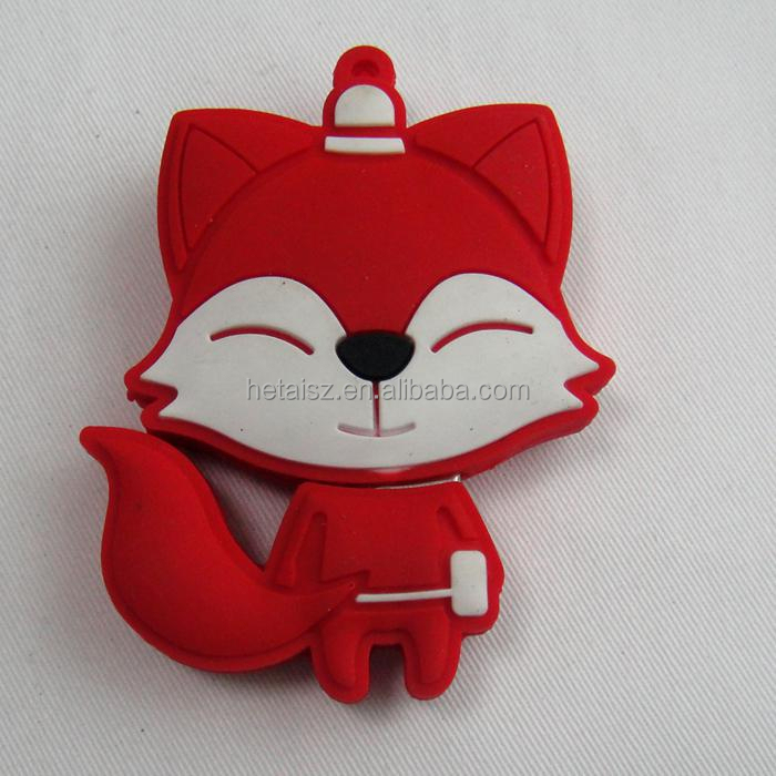 usb flash drive 64gb pen drive 32gb pendrive 16gb 8gb 4gb new style Hot Sale Fox Usb 2.0 flash card cartoon memory stisk