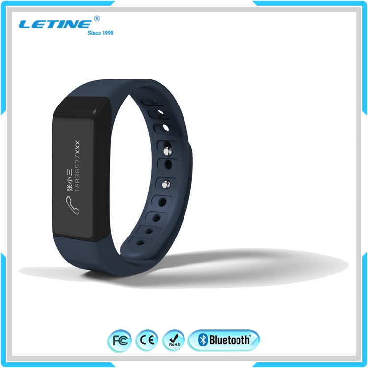 2015 newest model bluetooth 4.0 silicon smart bracelet i5 plus smart wristband for Android 4.3 and iOS 7.0 above