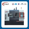 VMC500 fast rapid traverse Fanuc controller high accuracy cnc vertical milling machine with cnc 4 axis rotary table