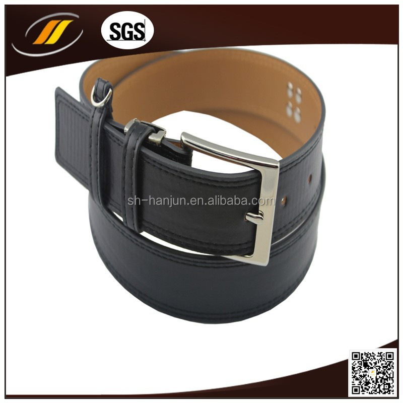 Fashion punk chain genuine leather belt buckles for men