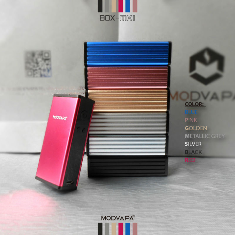 Modvapa mini design mechanical mod 50 watt box mod 18650 rechargeable battery mod vape