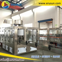 Full Automatic Plastic Bottle Water Filling Machine And Sealing Machine