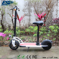 Easy carry 10 inch adult electric moped bike