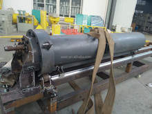 pe film recycling single extruder
