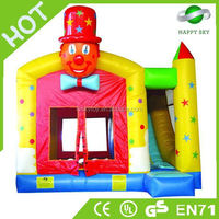 High quality 0.55mm PVC green inflatables bouncer,jolly jumper adult,giant inflatables bouncer