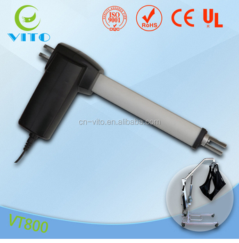 VT800 RoHS approved 24v electric linear actuator motor