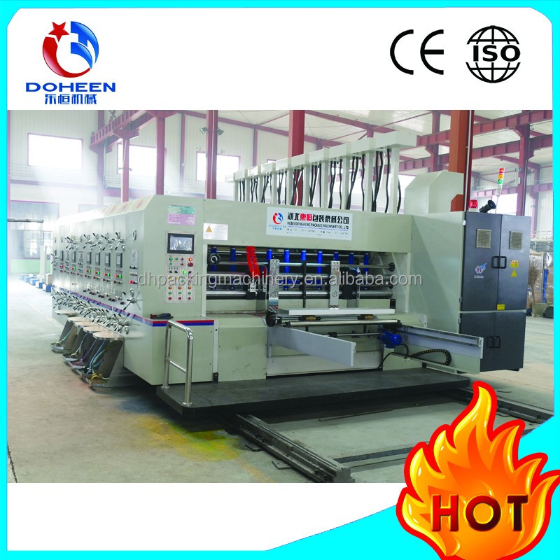 DoHeen-D Series Automatic High Speed Printer Slotter And Die Cutter Machine
