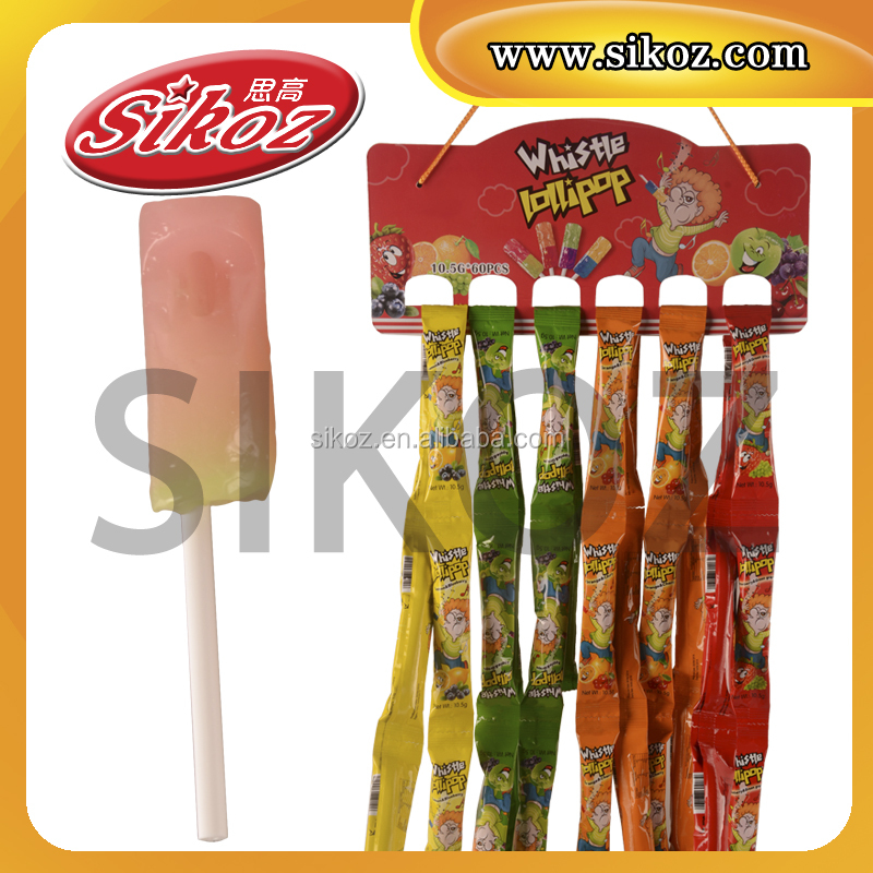 SK-B086 music whistle lollipop
