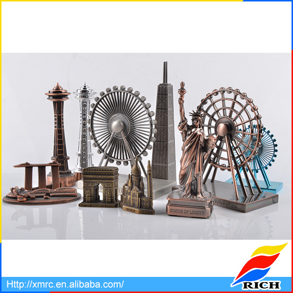 Zinc Alloy metal gift Craft, building model and figurines