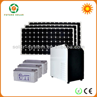 3000w solar system with MPPT controller for Fan & TV & Computer & Fridge & Air conditioner FS-S614