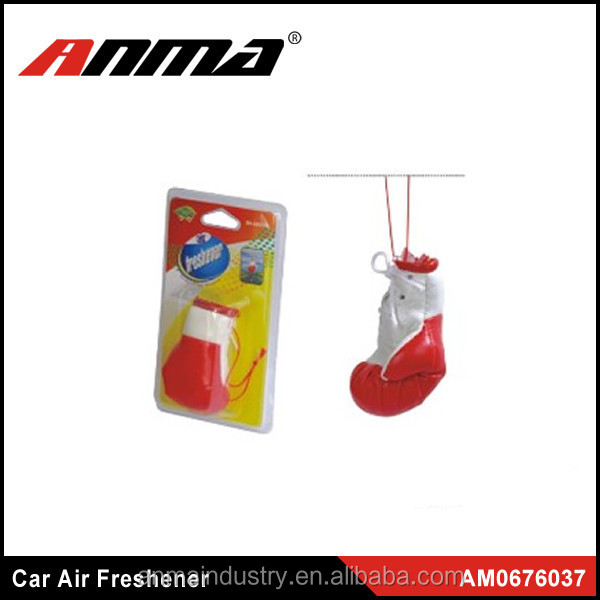 Hot Sell Boxing Glove Car Hanging Air Freshener