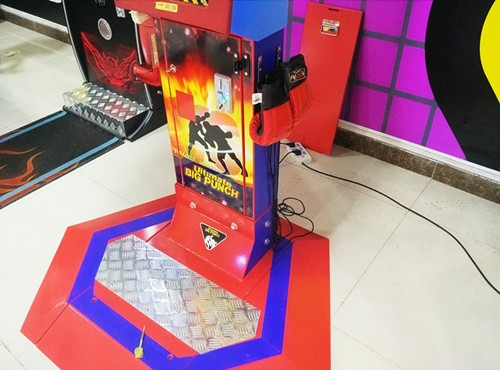 Interesting Coin Operated Arcade Game Machine - Ultimate Big Punch