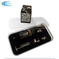 2200mah rechargeable battery vape mod Ecig E Cigarette Box Mod 1.0ohm vape atomizer