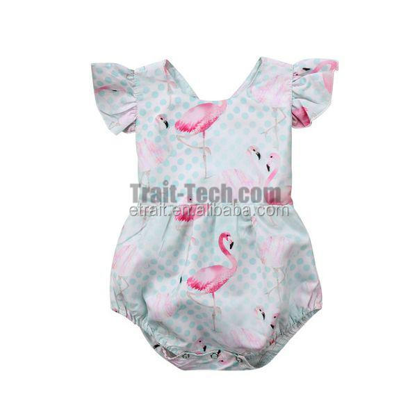 Wholesale Ins Style Infant Boutique Clothing Cute Baby Romper Baby Shirt