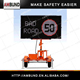 12V Led Dispaly Matrix Advertising Message Board Road Safety Traffic Warning Signs Display Trailer Variable Message Sign