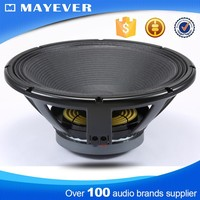 LF18G401 100mm/4inch coil 500W 18 inch hot sale professional pa speaker 18 inch subwoofer box design