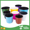 Competitive Price Label and printing compatible plastic flower planter pots for nursery seedlings
